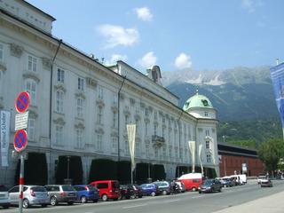 Hofburg - Innsbruck - Hofburg, Schloss, Maria Theresia, Habsburger, Architektur