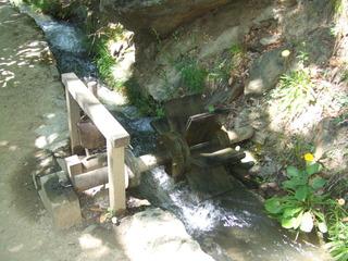 Waalweg #2 - Waal, Bewässerung, Tirol, Vinschgau, Südtirol, Alpen, Kanal, Wasserrad, unterschlächtig, Wasserkraft