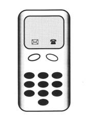 Handy - Handy, Telefon, Mobiltelefon, telefonieren, SMS, Kommunikation, simsen, Anlaut H
