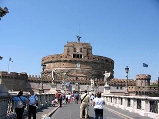 Rom - Engelsburg - Italien, Rom, Engelsburg, Denkmal, Architektur, Antike