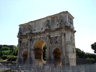 Rom - Forum Romanum Triumphbogen - Italien, Rom, Antike, Triumphbogen, altes Rom, Römer, Relief