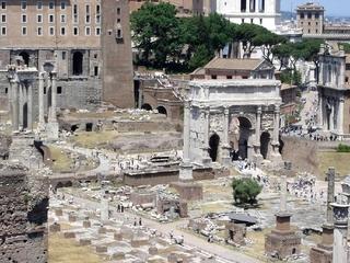 Rom - Forum Romanum 2 - Italien, Rom, Antike, Ausgrabungen, Archäologie, altes Rom, Römer