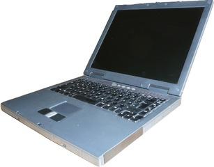Notebookbestandteile #01 - Informatik, Notebook, Rechner, Laptop, PC, tragbar, Tastatur, Bildschirm