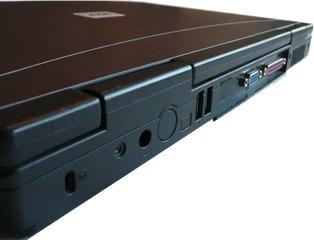 Notebookbestandteile #04 - Informatik, Notebook, Rechner, Laptop, tragbar, Anschlüsse, USB, Stromversorgung, VGA