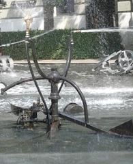 der Fastnachtsbrunnen - Basel #6   - Jean Tinguely, Basel, Fastnachtsbrunnen, Kunst, Künstler, Plastik, Skulptur, Wasserfontäne, Wasserspiel