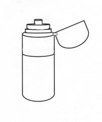 Trinkflasche #2 - Trinkflasche, Thermosflasche, Fahrradflasche, Durst, warm, heiß, kalt, Wasser, trinken, Kappe, Verschluss, Zylinder, Wärmeleitung, Physik, Wörter mit sch