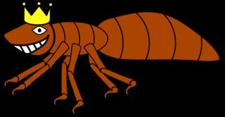 Ameisenkönigin #1 - Ameise, Insekt, Hautflügler, Ameisenkönigin