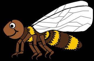 Biene #2 - Biene, Insekt, Flügel, Hautflügel