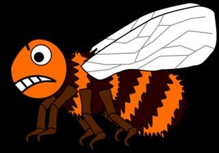 Hummel #4 - Hummel, Hautflügler, Insekt, Stechimmer Hummel