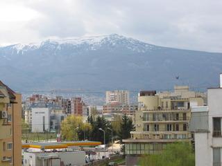Sofia/Vitoschagebirge - Stadt, Gebirge, Sofia, Bulgarien, Schnee, wohnen, Ausblick