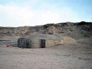 Bunker in Dänemark #1 - Bunker, Nordsee, Atlantikwall, 2 Weltkrieg, Krieg, Wall, Alliierte, Strand, Schutz, Invasion, Beton, Dänemark
