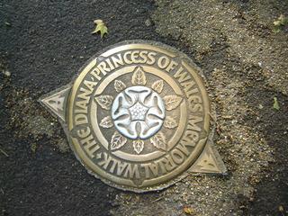 Princess Diana Memorial Walk - Prinzessin Diana, St James's Park, Memorial