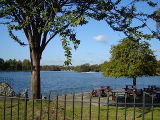 See im Hyde Park - See, Hyde Park, London, England, serpentine lake, serpent, Serpnetine