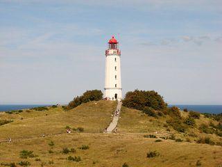 Leuchtturm # 1 - Leuchtturm, Leuchtfeuer, Signal, Schifffahrt, Seefahrt, Hiddensee, Insel, Ostsee, leuchten, warnen, steuern, Markierung, Seezeichen