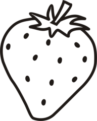 Erdbeere - Erdbeere, Obst, Frucht, Anlaut E