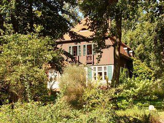 Gerhart-Hauptmann-Haus - Gerhart Hauptmann, Dichter, Naturalismus, Nobelpreis, Literaturnobelpreis, Literatur, Schriftsteller, Haus Seedorn, Wohnung, Hiddensee