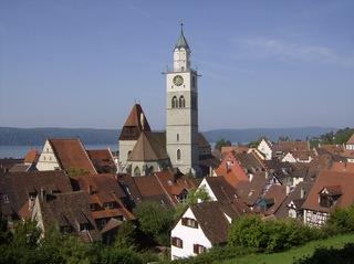 St. Nikolaus Überlingen  - Münster, Sankt Nikolaus Überlingen, Stadtpfarrkirche, Spätgotik, Basilika, Kirche, Kirchturm, Gotik