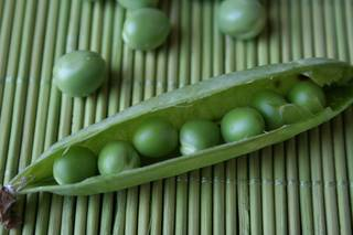 Erbsen in der Schote - Gemüse, Erbsen, Schote, Gartenerbse, Speiseerbse, Hülsenfrucht, Hülse