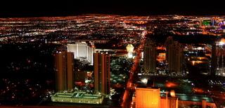 Las Vegas #2 - Vereinigte Staaten, Nevada, Glücksspiel, Kasino, Nacht, Stadt, Beleuchtung