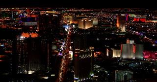 Las Vegas #3 - Vereinigte Staaten, Nevada, Glücksspiel, Kasino, Nacht, Stadt, Beleuchtung