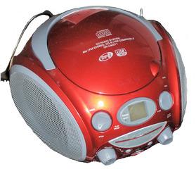 CD-Spieler - CD-Spieler, CD-Player, CD, Radio, Stereo, Musik, rot, Radio, MP3, hören