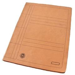 Schnellhefter aus Pappe - Hefter, Mappe, Pappe, orange, umweltfreundlich, Hausaufgaben, schreiben, Ordnung, Schriftgutbehälter, sammeln, ordnen