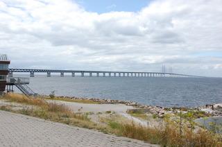 Oeresundbrücke #2 - Oeresundbrücke, Oeresund, Brücke, Malmö, Schweden, Ostsee, Kopenhagen, Dänemark, Verkehr, Verkehrswege, Technik