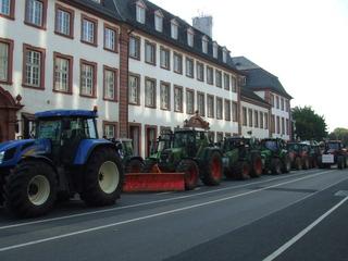 Demonstration der Milchbauern #2 - Demonstration, Bauer, Milchbauer, Traktor, Landwirtschaft, Landwirt, Politik