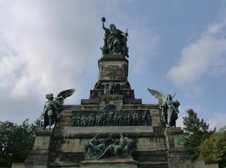 Niederwalddenkmal - Niederwalddenkmal, Denkmal, Rüdesheim, Deutsch-Französischer Krieg 1870/71, Kaiserreich