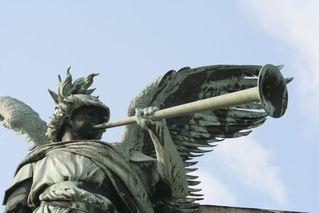 Niederwalddenkmal - Detail # 05 - Niederwalddenkmal, Denkmal, Rüdesheim, Deutsch-Französischer Krieg 1870/71, Kaiserreich