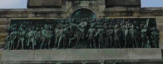 Niederwalddenkmal - Detail # 08 - Niederwalddenkmal, Denkmal, Rüdesheim, Deutsch-Französischer Krieg 1870/71, Kaiserreich