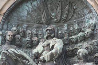 Niederwalddenkmal - Detail # 11 - Niederwalddenkmal, Denkmal, Rüdesheim, Deutsch-Französischer Krieg 1870/71, Kaiserreich