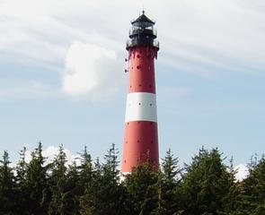 Leuchtturm - Leuchtturm, Sylt, Nordsee, Hörnum, Seezeichen, Schiffahrt, Navigation