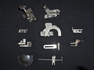 Alte Nähmaschine #6 - Nähmaschine, nähen, mechanisch, Nähmaschinenzubehör, Nähmaschinenfüße