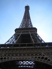 Tour Eiffel - Frankreich, Paris, Eiffelturm, Sehenswürdigkeiten, Architektur, Turm, Wahrzeichen