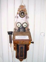 Altes Telefon - Telefon, Erfindungen, Kommunikation, Elektromagnetismus, Physik