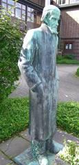 Wilhelm Raabe Denkmal - Dichter, Wilhelm Raabe, Eschershausen, Denkmal