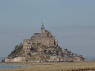 Mont St. Michel - Frankreich, Normandie, Architektur, Sehenswürdigkeit, St Michel, Meer, Ebbe