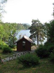 Bergen Troldhaugen Edvard Grieg Komponierhütte - Norwegen, Bergen, Troldhaugen, Edvard Grieg, Hütte
