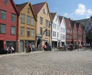 Norwegen Bergen Hanseviertel - Norwegen, Hanse, Unesco, Welterbe