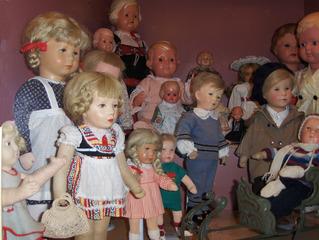Käthe Kruse Puppen - Puppe, Puppen, Käthe Kruse, Spiel, spielen, Kinder, Spielzeug, alt