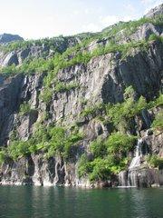 Norwegen Trollfjord Felsformation #1 - Norwegen, Felsen, Trollfjord, Fjord