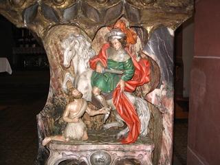 Der Heilige Sankt Martin  - Ambo, Sankt Martin, Martin von Tours, Bischof von Tours, Heiligsprechung, Bettler, Mantel