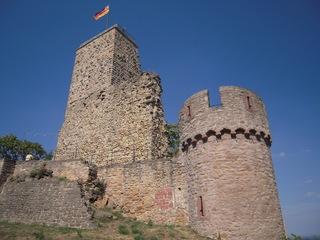 Wachtenburg (Wachenheim, Pfalz) - Wachtenburg, Wachenburg, Pfalz, Burg, Burgruine, Wahrzeichen, Wachenheim
