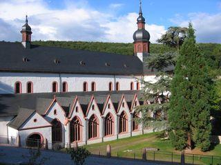 Kirche Kloster Eberbach #1 - Kloster, Kirche, Kreuzgang, romanisch, Rundbogen