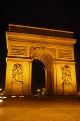 Arc de Triomphe - Paris, Monument, Wahrzeichen, Frankreich, Gebäude, Sehenswürdigkeit, Arc de Triomphe, Bogen, Triumphbogen