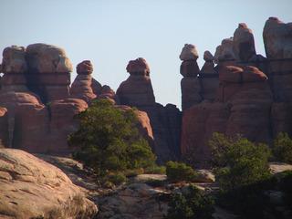 Canyonlands #3 - Wüste, Schlucht, Nationalpark, Naturwunder, Utah, Sandstein, Geologie, Gestein, Felsen, Moab, the Needles, Perm, Trias, USA, Landschaft, Südwesten