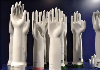 Formen Gummihandschuhe  - Form, Keramik, gießen, Handschuhe, Gummi, Gummihandschuhe, Industrie, Fertigung, weiß