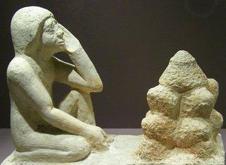 Bäcker - Ägypten, Antike, Hochkultur, Pharao, Grab, Totenkult, Grabbeigabe, Handwerker, Diener, Bäcker, Ofen, Brot