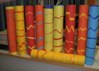 Regenmacher #3 - Musik, Regenmacher, Rhythmus, Begleitung, Geräusche, Geräusch, kreatives Handeln, fächerübergreifender Unterricht, Werken, Bildende Kunst, Instrumente, Musikinstrument, Musikinstrumentenbau